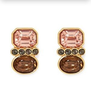 Vince Camuto Jewelry - NWT Vince Camuto Gold Tone Crystal Earrings
